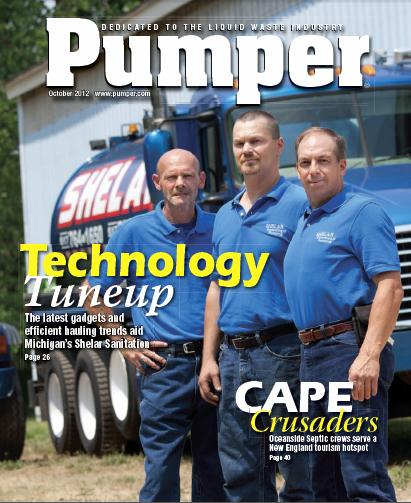 Pumper Magazine Featured Shelars in their Oct 2012 Edition